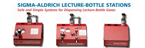 Sigma-Aldrich Lecture Bottle Stations